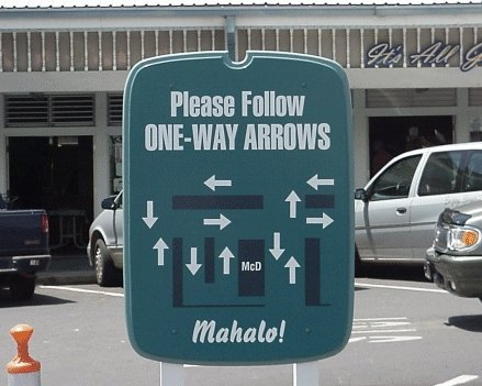 Image result for bad directions